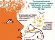 Clases de canto individuales y grupales ( tÉcnica vocal con bases corporales)