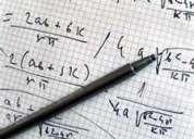 Tareas de algebra y aritmetica en quito