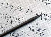 Realizacion de trabajos de aritmetica