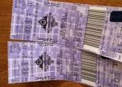 Vendo 2 entradas vip concierto ricardo arjona quito