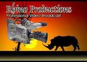 Filmación de fiestas y eventos rhino productions guayaquil