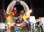 Fiestas infantiles, hora loca, volanteo,y mucho mÁs...