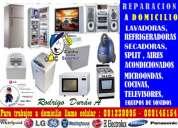 Tecnico  rodrigo druan 089145154 lavadoras,secadoras, neveras ,a