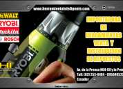Herramienas electricas en ecuador :: repuestos dewalt ecuador ::