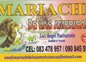 Mariachis en quito;  el mariachi de las amÉricas internacional