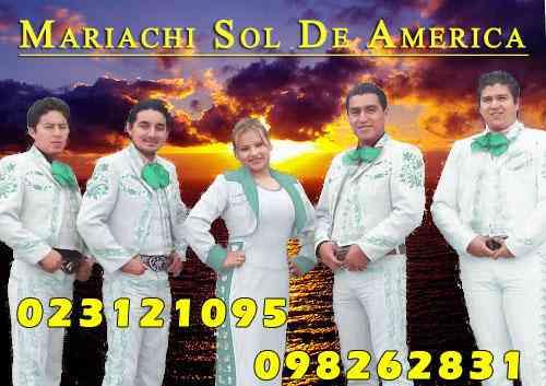 Mariachis en Quito- MARIACHI SOL DE AMERICA