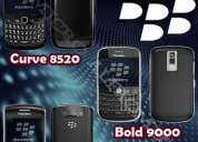 Carcasas originales blackberry curve 8520 javelyn 8900, bold 9000