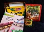 Set clásico de 64 crayones marca crayola no toxicos con sacapunta