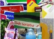 Etiquetas personalizadas termo adhesivas y de vinil