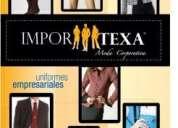 Uniformes corporativos y ropa de trabajo