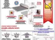 Sublimadoras, estampadora multifuncion 6 en 1