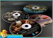 Impresion y grabacion de cd en alta calidad full