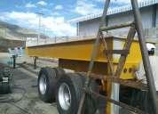 trailer para montaje de trituradoras