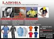 Labora uniformes de trabajo