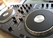 Venta new numark ns7 controlador dj turntable, pioneer djm-900 nexus, 2x technics sl-pro 1210m5g