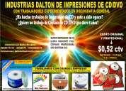 Impresiones y grabaciones de cd  de  alto  brillo