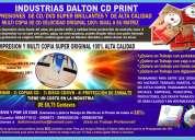 Impresiones de cd dvd   con oferta  de calidad full brillo
