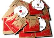 Grabaciones  e impresiones de discos  full cd o dvd  de calidad