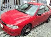 Mitsubishi lancer rojo motor 1.5 1997 5 puertas