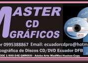 Impresiones de cd  con grabaciones full de calidsd