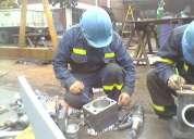 Soldador calificada,metalurgico