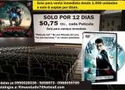 Peliculas estrenos dvd profesionales solo compra inmediata