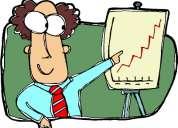 Ejecutivo profesional en ventas empresariales