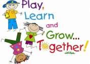 maestra para  niños de 2 años