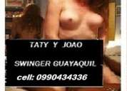 Pareja swing cumple fantasias 0990434336 en guayaquil