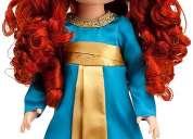 Princesa merida de la pelicula brave original de disney