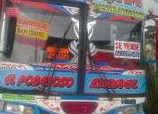 Vendo bus 98 bajo costo super hino