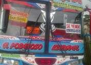 vendo bus 98 bajo costo super hino