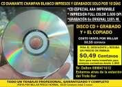 Impresiones y grabaciones de discos de rebaja