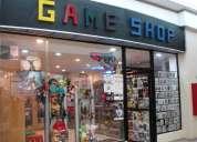 negocio game shop en venta
