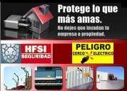 Cercos eléctricos instalación y/o mantenimientos correctivos/preventivos