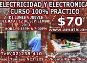 Promocion 2 cursos en 1 electronica + electricidad