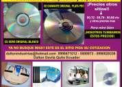 Impresiones de cd/dvd full precios rebajados