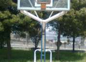 Tableros de basquet  fijos y movibles