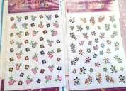 Stickers nail accessory para uñas diferentes diseños