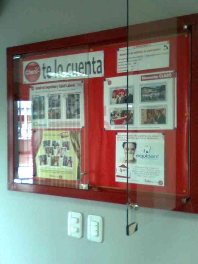 CARTELERAS INFORMATIVAS PARA  INSTITUCIONES EDUCATIVAS
