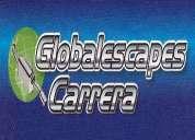 Globalescapes carrera  te ofrece los siguientes servicios