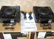 2x pioneer cdj-900 1 djm-2000 mezclador de paquete