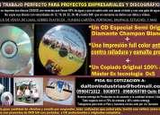 Impresiones de cd anti rayones  y agua de calidad