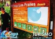 Venta de terrenos sector turistico puerto cayo