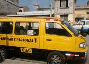 Vendo furgoneta kia pregio 2005