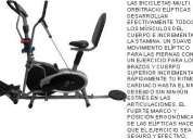 Bicicleta estatica orbitrack $ 290