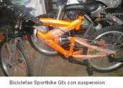 bicicletas economicas gtx desde $ 83.50 aro 20