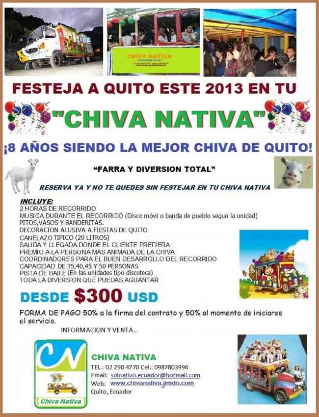 Chiva Nativa, Nuevas unidades.