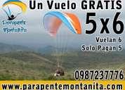 Vuelos biplaza en montañita parapente con instructor, parapente montañita, parapente tandem ecuado