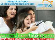 Tv satelital fta canales hd equipos azbox mininewgen azamerica s925hd iks privado